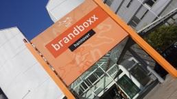 Eingang des SOC in der Brandboxx.