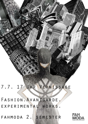 Der Flyer zur Vernissage.