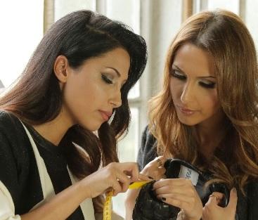 Jila und Jale Pashottan in ihrem Atelier.