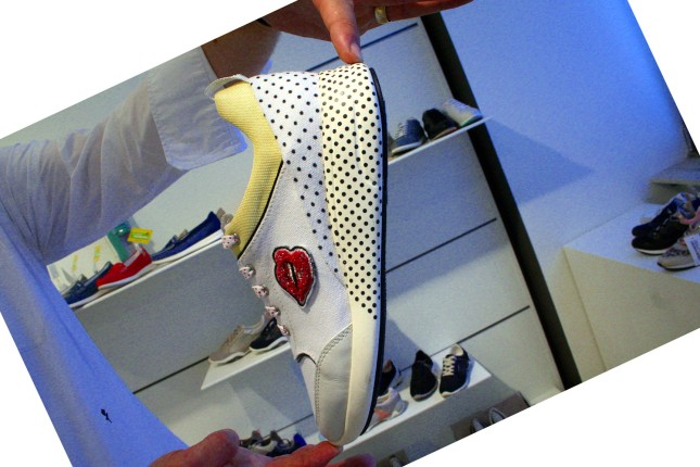 Ein echter Roy Lichtenstein - als Sneaker von Geox.