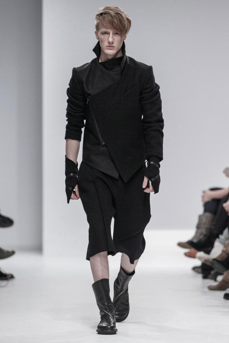 Schwarze Romantik: Designerin AleksKurkowski