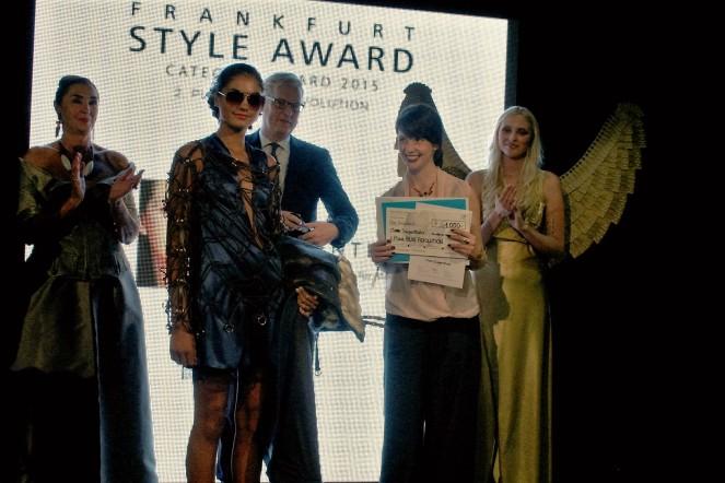 Clara Siegenthaler holte den zweiten Platz in der Kategorie Blue Revolution.