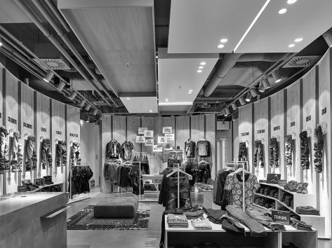 Das neue Store-Design von OGE - hier gesehen in Berlin.