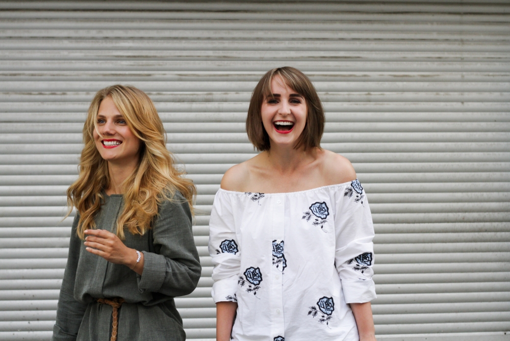 Julia-Maria BLessin und Pauline ... sind die Macherinnen des Nice to have Mags.