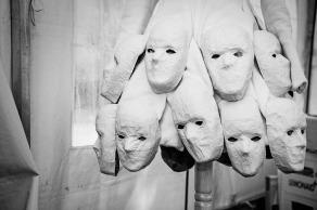 Maskenspiel beim FreakyFashionFestival