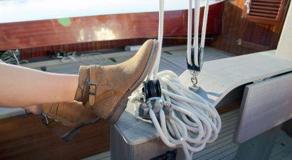 Eine Bootsfahrt, die istlustig…
