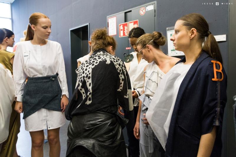 Backstage betrachtet: 32 Kollektionen waren in diesem Jahr beim Modepreis Hannover zusehen
